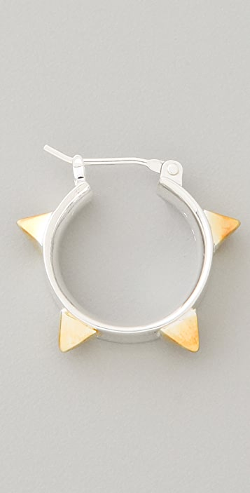 TOM BINNS Protopunk Spike Earrings
