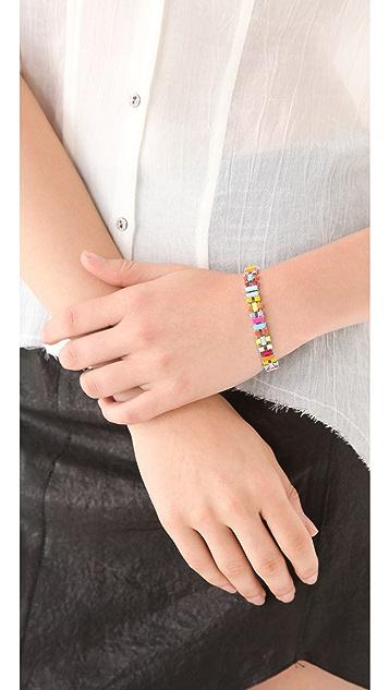 TOM BINNS Jazz Bracelet with Small Baguettes