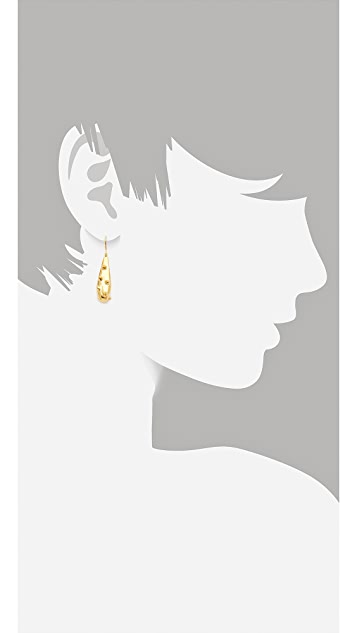 TOM BINNS Hard Wear Drop Earrings