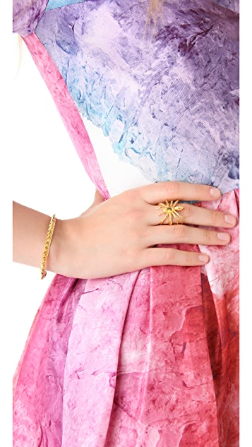 TOM BINNS Petite Clash Cuff with Pyramids