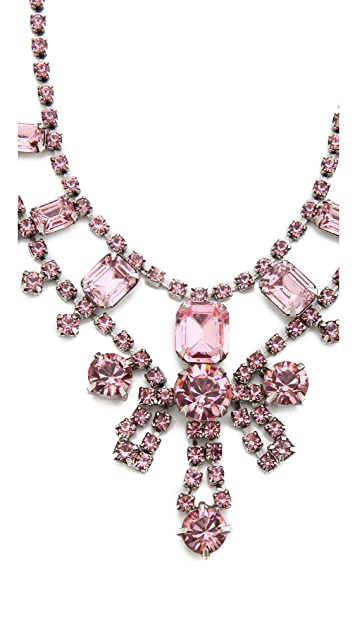 TOM BINNS Madame Dumont Necklace with Crystals