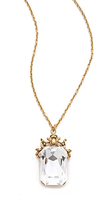 TOM BINNS Rokoko Dumont Pendant Necklace