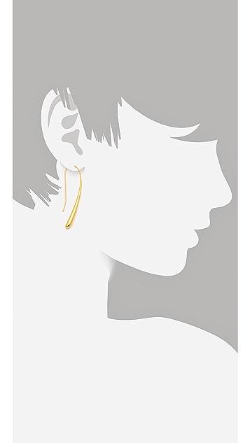 TOM BINNS Classic Tear Drop Earrings