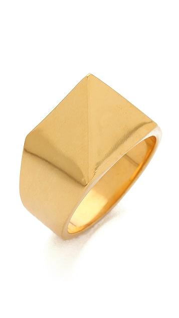 TOM BINNS Clash Studded Ring