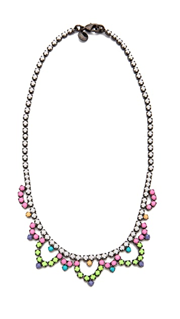 TOM BINNS Bright Crystal Necklace