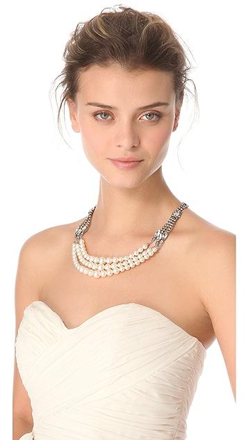 TOM BINNS Regal Multi Strand Necklace