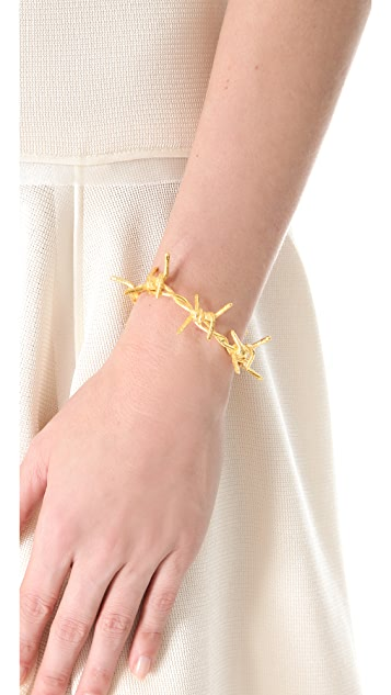 TOM BINNS Barricade Babe Barbed Wire Cuff