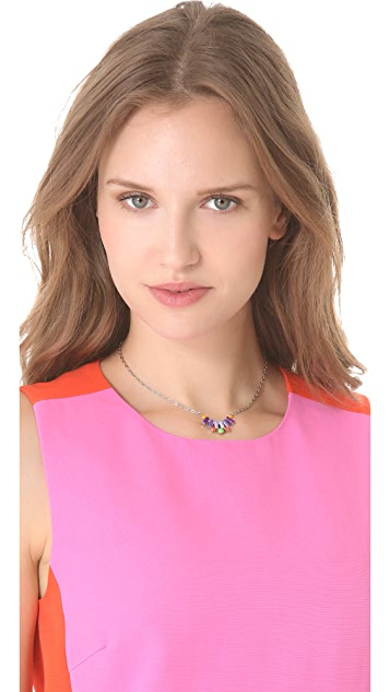 TOM BINNS Electro Clash Nova Half Moon Necklace