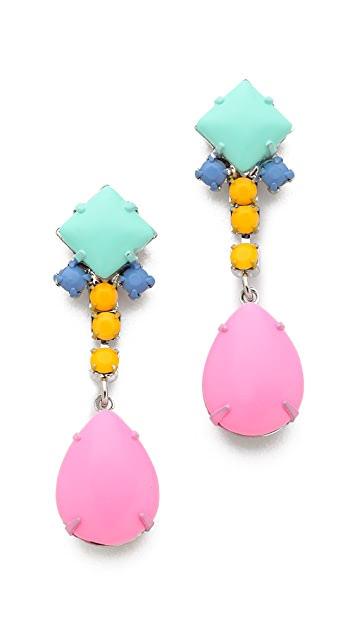 TOM BINNS Soft Power Drop Earrings