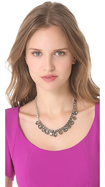 TOM BINNS Regal Rocker Fonce Asymmetrical Necklace
