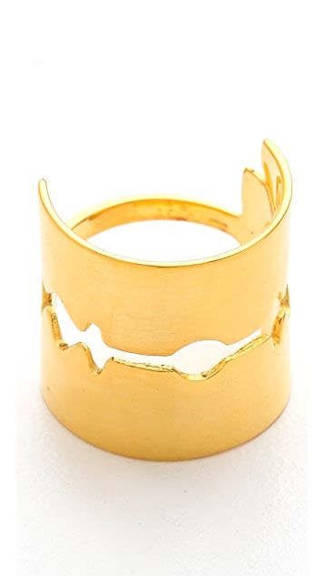 TOM BINNS Razor Blade Ring