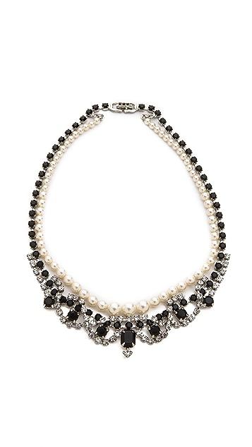TOM BINNS Certain Ratio Noir Ornate Necklace