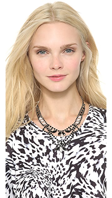 TOM BINNS Dumont Noir Tiered Necklace