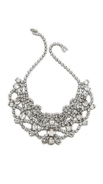 TOM BINNS Madame Dumont Tiered Bib Necklace