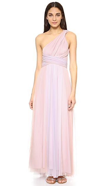 Twobirds Ombre Tulle Ballgown