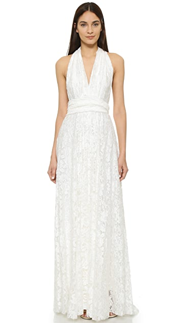 Twobirds Lace Ballgown