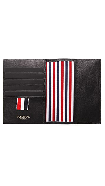 Thom Browne Leather Passport Case
