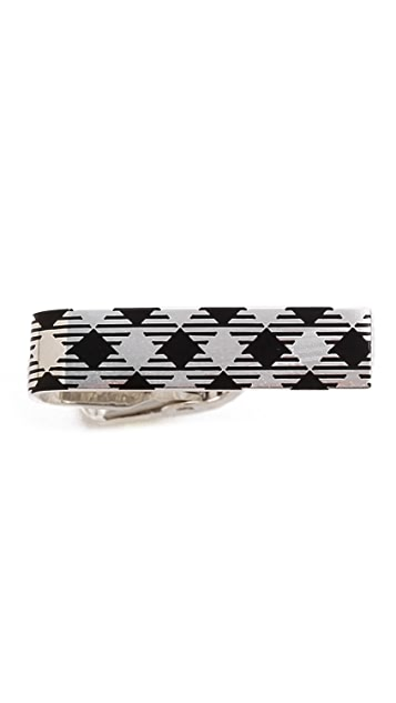 Thom Browne Classic Silver Tie Bar