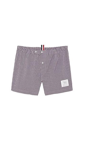 Thom Browne Micro Check Boxer Shorts