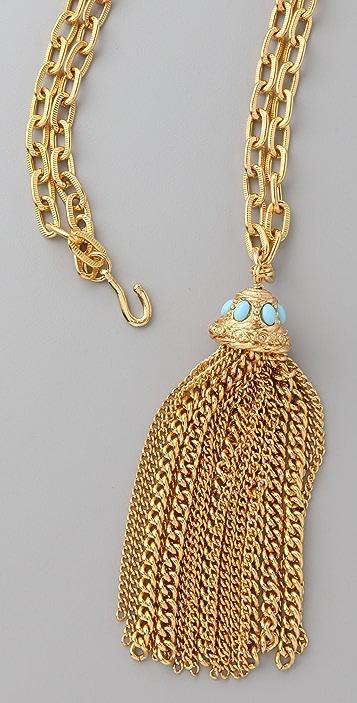 Theodora & Callum Convertible Tassel Necklace