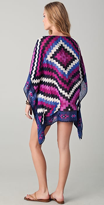 Theodora & Callum Serengeti Scarf Cover Up