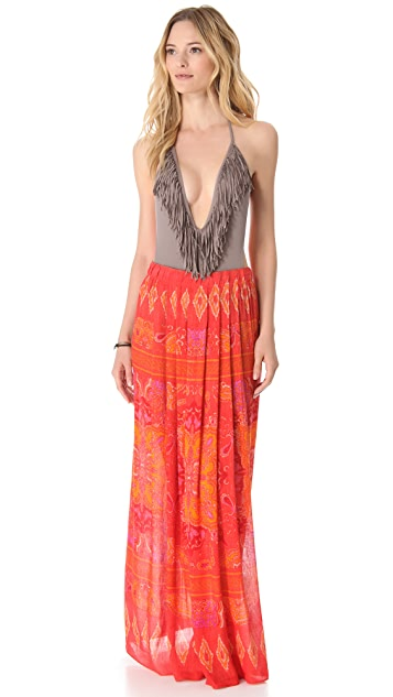 Theodora & Callum Java Cover Up Skirt / Dress