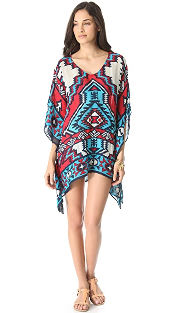 Theodora & Callum Chichen Itza Cover Up Top