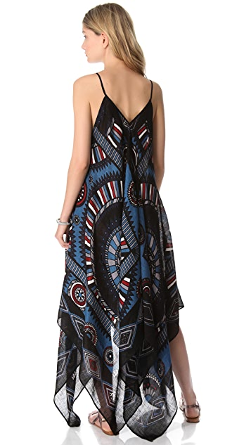 Theodora & Callum Phoenix Scarf Dress