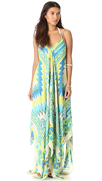 Theodora & Callum Samoa Scarf Dress