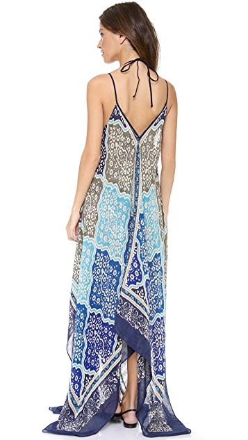 Theodora & Callum Medina Scarf Cover Up Dress
