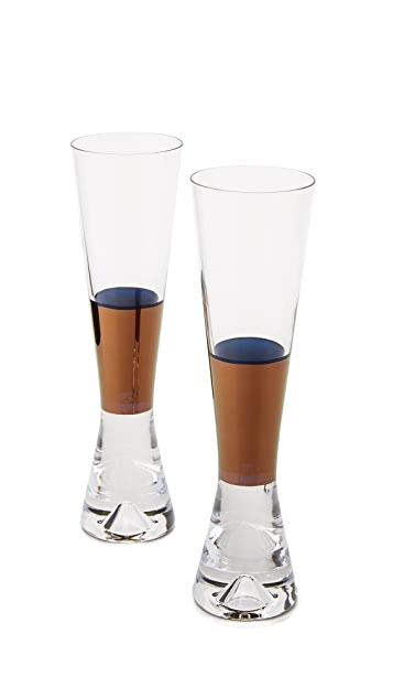 Tom Dixon Tank Champagne Glasses Set