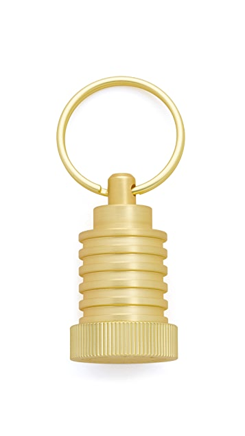 Tom Dixon Cog Key Ring Pod