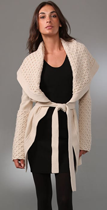 Temperley London Honeycomb Cardigan