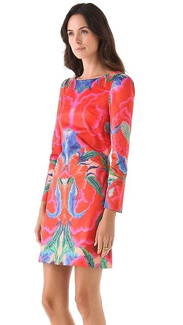 Temperley London Lotus Print Shift Dress