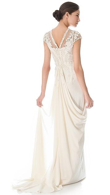 Temperley London Laelia Floral Dress