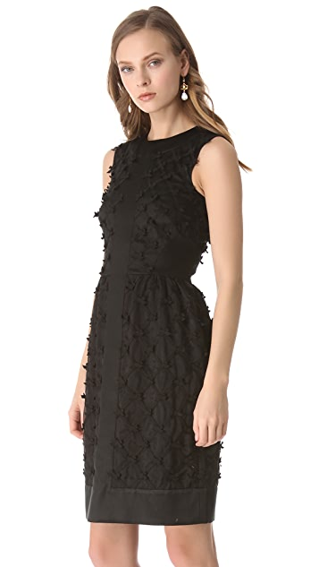 Temperley London Lattice Ribbon Dress