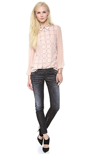 Temperley London Orion Geometric Shirt