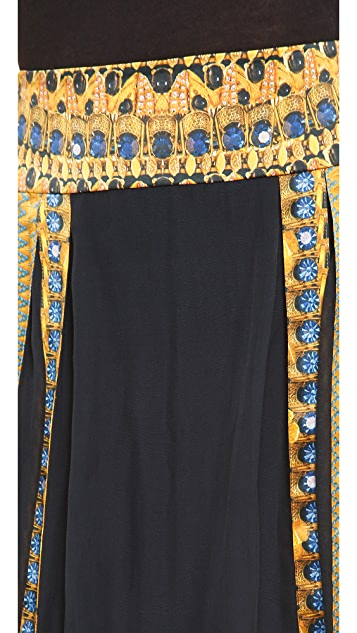 Temperley London Jasper Print Skirt