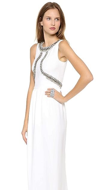 Temperley London Long Goldina Dress