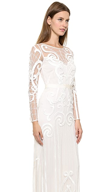 Temperley London Long Catroux Dress