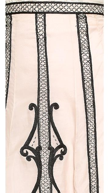 Temperley London Long Crivelli Skirt