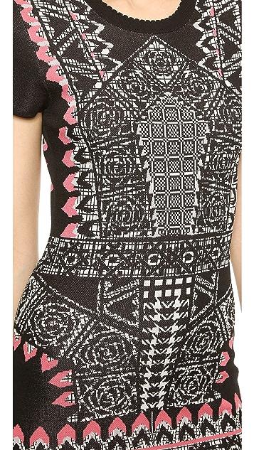 Temperley London Kieta Fitted Dress