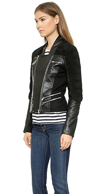 10 CORSO Porson Leather Jacket