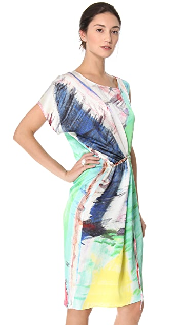 Tess Giberson Printed Slouchy Dress