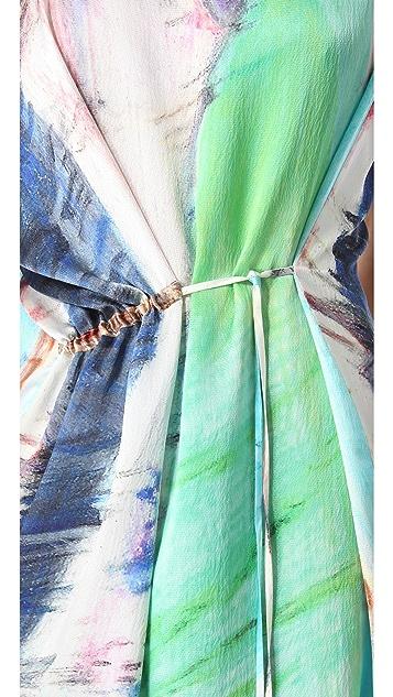Tess Giberson Printed Slouchy Dress