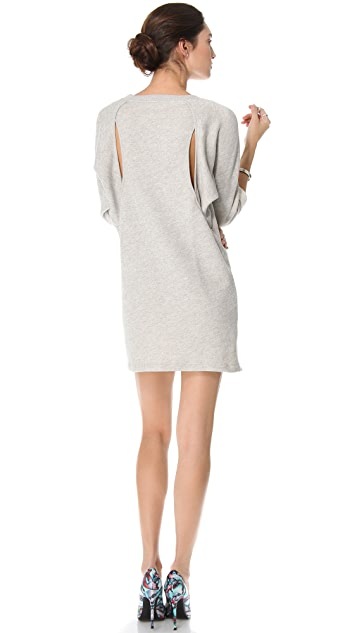 Tess Giberson Split Sweatshirt Dress