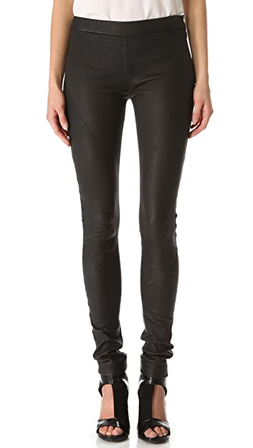 Tess Giberson Leather Leggings