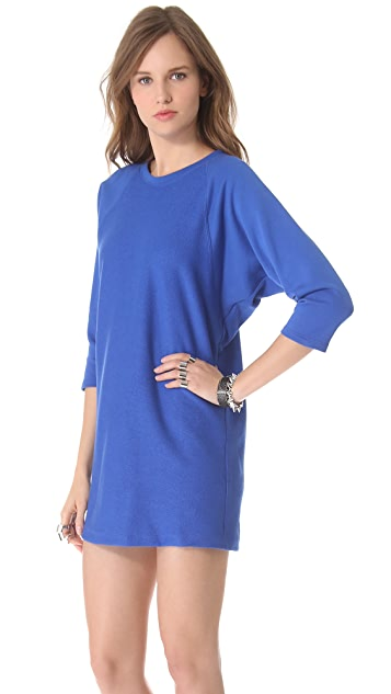 Tess Giberson Split Back Sweatshirt Dress
