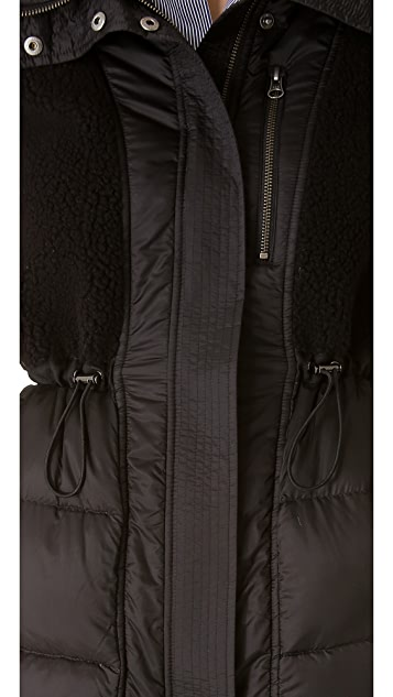 Tess Giberson Quilted Inside Out Coat