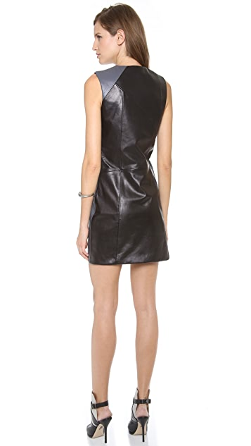 Tess Giberson Dress with Slash Detail